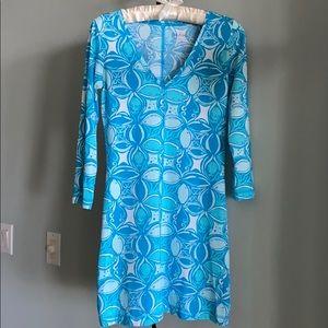 NWT LILLY PULITZER JULIET PIMA-COTTON DRESS